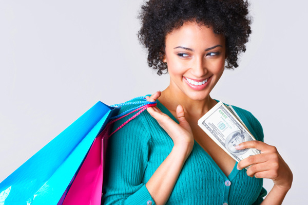 woman-shopping-on-a-budget